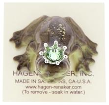 Hagen-Renaker Miniature Frog Prince Kissing Birthstone 07 August Peridot image 5