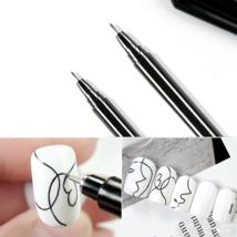 Nail Art Graffiti Pen Waterproof Drawing Painting Liner Brush DIY Beauty... - $7.92