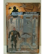 Military  3.75 inch action figure play set with gear New in package 3+ - $8.90