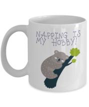 Napping Is My Hobby Koala Bear Coffee Mug - $19.99