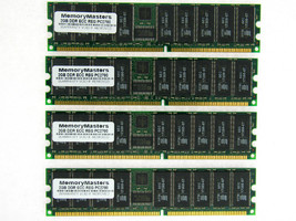 8GB  (4X2GB) DDR MEMORY RAM PC2700 ECC REG DIMM 184-PIN