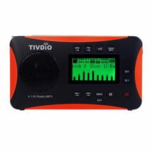 TIVDIO V-116 Portable Shortwave Radio with FM MW SW Transistor Support M... - $65.98