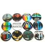 """12 IMAGINE DRAGONS Buttons Pinbacks 1"""" Pins One Inch Badges Indie ALT Rock Band - $7.99"""