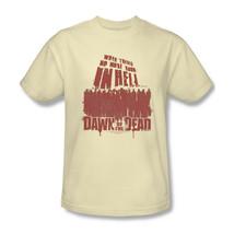 Dawn of Dead T-shirt vintage 70's cotton graphic zombie tee horror movie UNI479 image 2