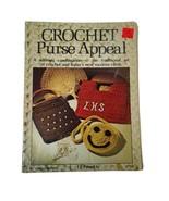 VTG Crochet Purse Appeal Crocheting Handbag Patterns 1970's Craft Bookle... - $7.86