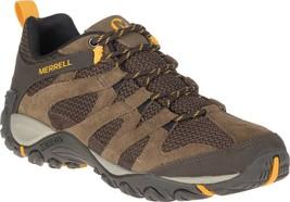 Merrell Alverstone Hiker Boot (Men's) in Merrell Stone Suede/Mesh - NEW - $94.45