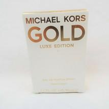 GOLD By Michael Kors Luxe Edition Eau De Parfum Spray 1.7fl.oz./50ml NEW in BOX - $29.07