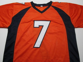 JOHN ELWAY / HALL OF FAME / AUTOGRAPHED DENVER BRONCOS PRO STYLE JERSEY / COA