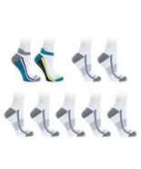 Copper Fit™ 7 Sport 2 Grip Performance Socks Compression White L/XL NEW ... - $20.77