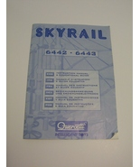 Quercetti Skyrail Suspension Roller Coaster Instruction Manual 6442  6443  - $3.99