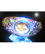 HAUNTED WATCH BRACELET TIME FOR FORTUNE WEALTH MAGICK WITCHES MYSTICAL T... - $557.77