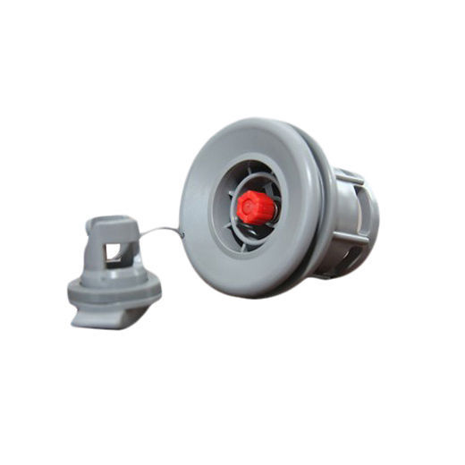 Halkey-Roberts(HR) Air Valve For Inflatable Boat Raft Gray