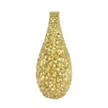 Gold Resin Decorative Vase - $125.23