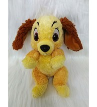 Disney Babies Lady & The Tramp Puppy Dog Lovey Plush Toy B211 - $10.97