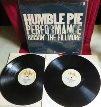 "VINYL LP RECORD ALBUM, 1971, ""ROCKING THE FILMORE "" from HUMBLE PIE on A&M - £11.48 GBP"