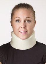 "Corflex Cervical Collar for Cervical Facet Syndrome Treatment-L-4.5"" - White - $11.99"