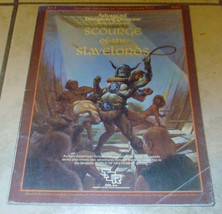 AD&D Scourge of the Slavelords #9167 Module A1-4 TSR Dungeons w/Map Complete  - $79.26