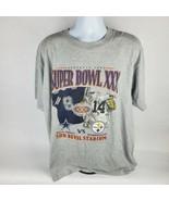 Lee Mens T-Shirt Sz XL Vintage Super Bowl XXX Steelers Cowboys Sun Devil... - $26.60
