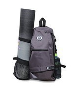 Aurorae Yoga Mat Bag. Multi Purpose Cross-body Sling Back Pack. Mat sold... - £35.15 GBP