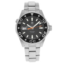 TAG Heuer Aquaracer 500m Black Dial Steel Quartz Mens Watch WAJ1110.BA0870 - $1,599.00
