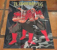 "WWF Legion Of Doom Road Warriors Hawk Animal Art 16.75"" X 22"" Poster, NW... - $22.21"