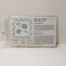 "Daisy Garden Pillow Stamped Cross Stitch Kit 14"" x 14"" - $8.79"