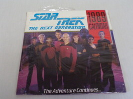 ORIGINAL Vintage Unused 1989 Pocket Books Star Trek Next Generation Cale... - $37.14