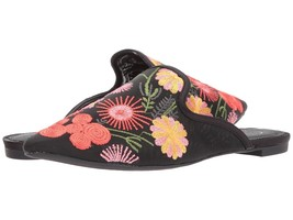 Women's Jessica Simpson Zander Floral Embroidered Mules, Multiple Sizes Black - $63.96