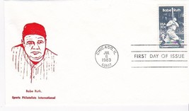 BABE RUTH #2046 CHICAGO, IL JULY 6, 1983 SPORTS PHILATELISTS INT. CACHET... - ₹228.14 INR