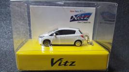 TOYOTA Vitz LED Light Keychain White Pull Back Mini Car Not Sold in stores Japan - $19.40