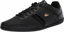 Lacoste Men's Leather Athletic Sport Giron 120 CMA Sneakers Shoes Black Gold image 7