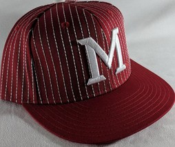 LZ Adidas Adult One Size Snapback Miami Redhawks NCAA Baseball Hat Cap NEW C42 - $18.52