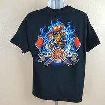 Gildan Men's T-Shirt Size XL Black TO19 - £7.92 GBP