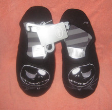Nightmare Before Xmas Jack Skellington Plush Slippers Size M L 9/10. Bra... - $19.79