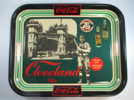 Coca-Cola Vintage 1980 Cleveland Bottling Works 75th Anniversary Tin Tray - $22.28