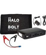 HALO Bolt Portable Charger & Car Jump Starter w/ LED Floodlight Black 0nly - $189.99
