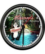 Hamm's Hamms Beer Bear Bar Tavern Camp Tent Boat Sign Wall Clock - $21.12