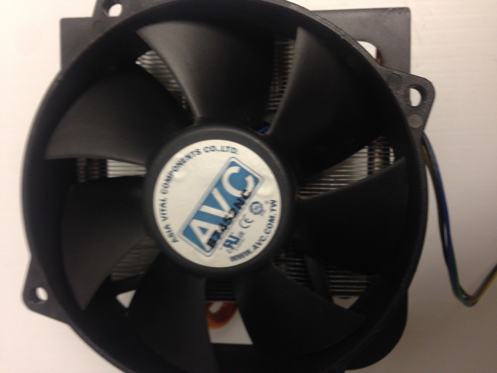 AVC Heat sink and Fan b7452nc TESTED Lot:F