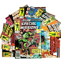 GI Joe Special Missions 10 Issue Comic Book Lot Marvel Snake Eyes Lady J... - $19.75