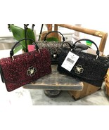 Kate Spade Adette Glitter Mini Top Handle Crossbody Bag Mini Satchel $249  - $79.99