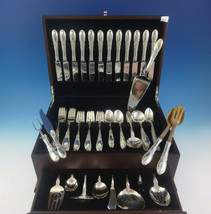 Old Mirror by Towle Sterling Silver Flatware Service For 12 Set 86 Pieces - $4,650.00