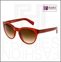OLIVER PEOPLES ALIVIA OV5216S Red Blood Translucent Brown Round Sunglasses 5216 image 7