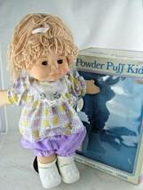"Rare 1980'S Uneeda Powder Puff Kids In Origional BOX- Eyes OPEN- 16"" Tall - $147.51"