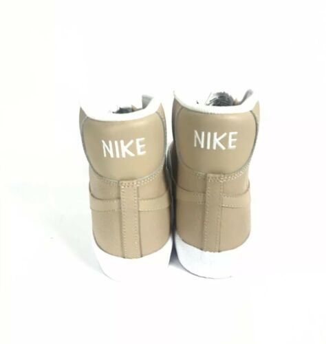 Nike Blazer Sneakers Size 7 Youth Women's Size 8.5 Tan and White 895850-202 New