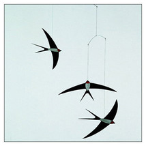 Flying Swallows Mobile by Christian Flensted for Flensted Mobiles - $33.75