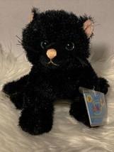 Webkinz Black Cat Stuffed Plush Halloween Special Retired Ganz HM135 New Code - $17.99