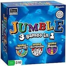 Jumble 3 in 1 Board Game (Word Scramble, Word Spin-off, Word Race) Imagi... - $14.85