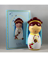 Shining Light Doll St. Cecilia Collectible Vinyl NEW Story Prayer & Card - $16.64
