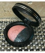 IMPERFECT* Laura Geller SATEEN FRESCO Pink Eye Shadow MYSTIC SEA Blue Ri... - $6.72