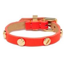 Marc Jacobs Bracelet Leather Screw It NEW - $57.42
